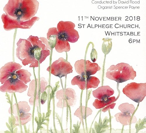 poppies & free concert info 11/11 6pm